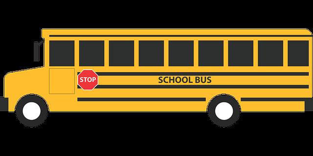 Kursy autobusu na rok szkolny 2019/2020
