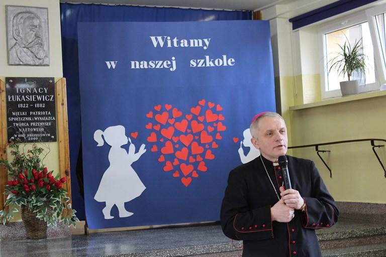 Wizyta duszpasterska Księdza Biskupa Stanisława Jamrozka
