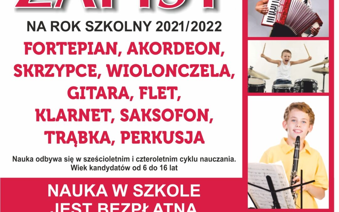 Rekrutacja do szkoły muzycznej w Jarosławiu